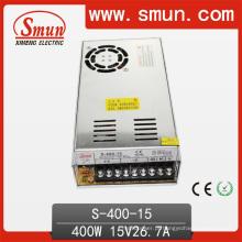 Fonte de alimentação do interruptor de 400W 15VDC AC / DC com ventilador de refrigeração