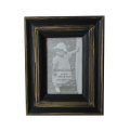 Black Gesso Frame for Home Gift