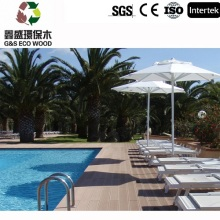 Eco-friendly ao ar livre antiderrapante Wpc decking do