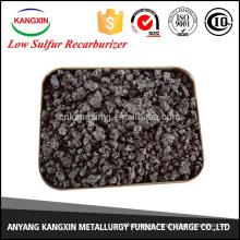 Recarburizador de coque de fundición bajo en azufre