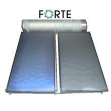 Colector solar de placa plana para la escuela