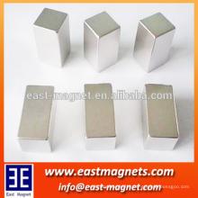 Ímãs quadrados do neodímio N35 para levantar / ímã de NDFEB do cubo