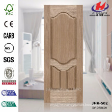 JHK-S02 New Design Unusual Wood Line High Quality EV OAK Veneer Price Make Door Skin