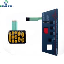 Laser machine divece yellow button membrane switch