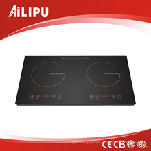 New Touch Control Double Induction Cooker
