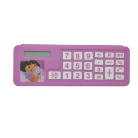 Pencil Case with Calculator