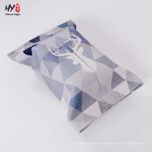 Caja de pañuelos de lino personalizado personal personalizado