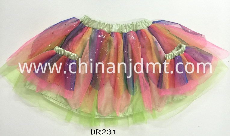 Colours with Skirt