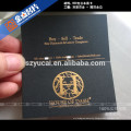 Inexpensive Products great quality 4 color glossy clear plastic business card