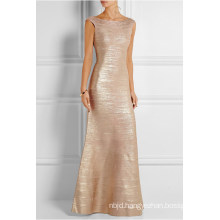Gold Long Maxi Dress 2017 New Arrival Formal Dresses