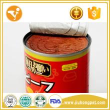 Aliments pour chiens humides Gâteaux naturels pour chien Sauté de bœuf saine Aliments en étain