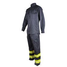 ignífugo anti estático hi vis ropa de trabajo uniforme
