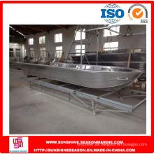 Barco de aluminio de 6,2 m para pescar con SGS (VL21)