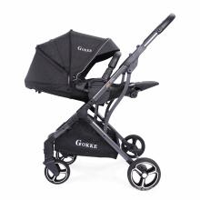 Многофункциональная детская коляска с высоким углом обзора Детская коляска 3 в 1 для новорожденных