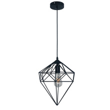 Geometric Hanging Pendant Light Iron lamp