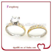 Fabricante de atacado de jóias de cristal de casamento de aço inoxidável