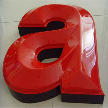 Publicidade Vacuum Formed Plastic Sign Letters