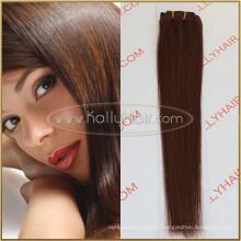 """20 """"clip brésilien droit en extension de cheveux humains brésiliens 100% cheveux"""