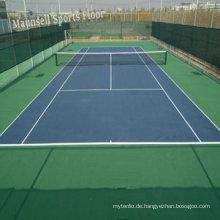 China Facroty Verkauf PVC Sport Bodenbelag für Tennisplatz