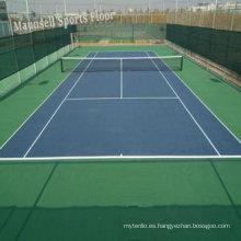 China Facroty Venta PVC Deportes Pisos de pista de tenis