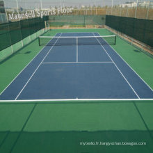 China Facroty Sale PVC Sports Flooring pour Court de Tennis