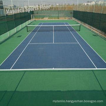 China Facroty Sale PVC Sports Flooring for Tennis Court