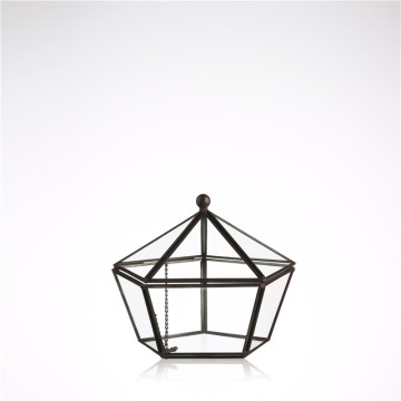 wholesale Handmade heat-resistant glass geometric terrarium