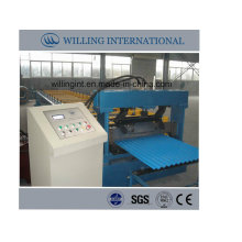 Glazed Wall Sheet Roll Forming Machine System for Metal Corrugated Wall Panel