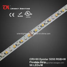 UL High CRI Epistar 5050 RGBW Flexible Strip 4000k LED-Leuchte