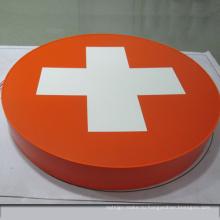 Металлическая Краска Брызга С Подсветкой Рекламная Вывеска Логотип Афиша