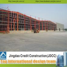 Installation facile de hangar de structure en acier de Ce ISO Chine