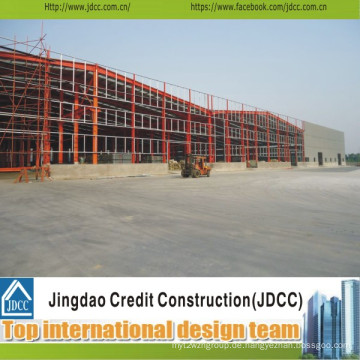 Einfache Installation Ce ISO China Stahlkonstruktion Schuppen