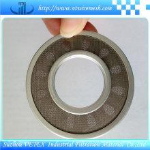 Boa qualidade de aço inoxidável filtro de disco com alta precisão
