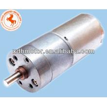высокий низкий скорость крутящий момент DC мотор-редуктора 25мм,2 об / мин мотор-редуктор постоянного тока 12В 24В