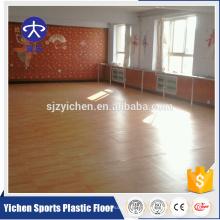 Innenportable PVC-Tanzbodenbelag des hölzernen Musters hölzerner