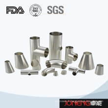Garniture de tuyaux en tube soudé de qualité alimentaire en acier inoxydable (JN-FT1005)