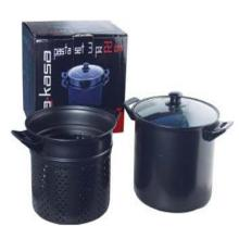 carbon steel paste pot set