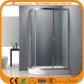 Links und rechts Duschglas Badezimmer (ADL-8026)