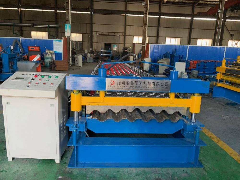 Aluminum Corrugator Sheet Machine