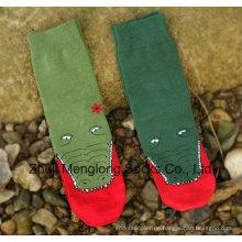 Dame Fashion Bedruckte Socken