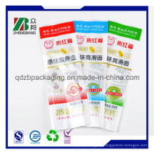 Zurück Heat Sealed Bunte Kunststoff Popsicle Bag