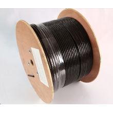 Открытый FTP Cat5e кабель 0.5copper 4pair 24AWG Pass Fluke Test