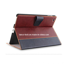 Gorgeous Genuine Leather Cover Case for iPad Air, Flip Card Holder Leather Case