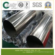 Tubo de acero inoxidable pulido / tubo 316L Soldado Fabricantes