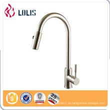 China supplier grifo de lavabo de cocina gooseneck de acero inoxidable