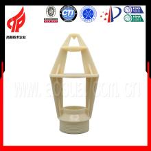 Boquilla de pulverización pequeña, Boquilla de pulverización de ABS usada en la torre de enfriamiento de agua