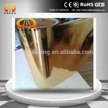 Hochwertiger, farbbeschichteter Aluminiumtierfilm, Goldbeschichteter Film