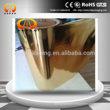 High Quality Color Coated Aluminum Pet Film, Gold Coated Film