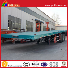 Hot Sale 40FT Container Transport Flatbed Semi Trailer