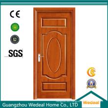 Personalice la puerta de MDF de madera de PVC con vidrio para proyectos de casas